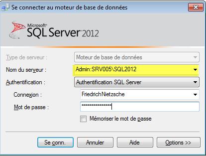 Nom : SQLServer_DAC_20_SSMSAdminConn.png Affichages : 1786 Taille : 24,7 Ko