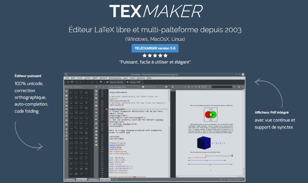 Nom : texmaker.PNG Affichages : 370 Taille : 163,5 Ko