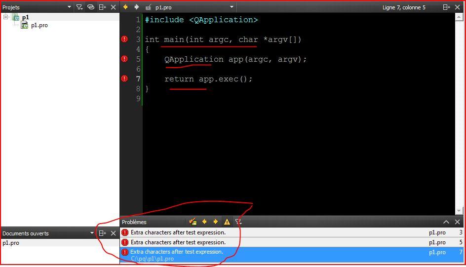 erreur : Qt Creator needs a compiler set up to build  Configure a