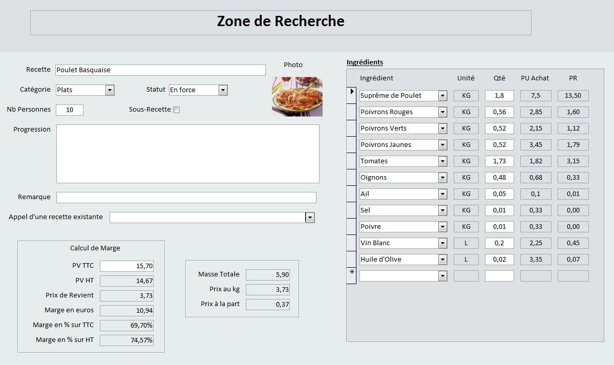 Logiciel Fiche Technique Cuisine Perfect Les Plus With Logiciel - Logiciel gestion cuisine
