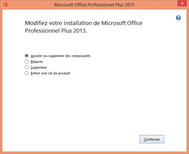 comment reparer office 2013
