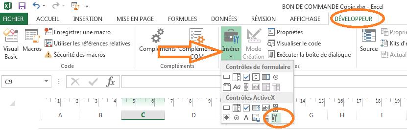 Faire Calendrier Excel.Xl 2013 Inserer Un Calendrier Dans Une Cellule Excel Excel