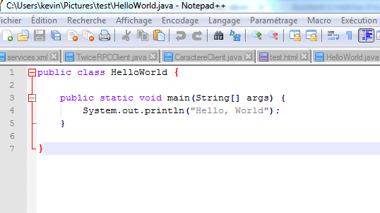 Impossible D Executer Un Programme Avec Java