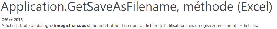 XL-2013] GetSaveAsFilename et type de fichier (xls ou xlsx)