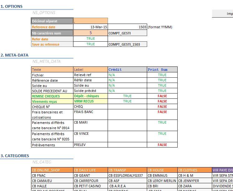 Xl 2010 Import Pdf Texte Releve De Comptes