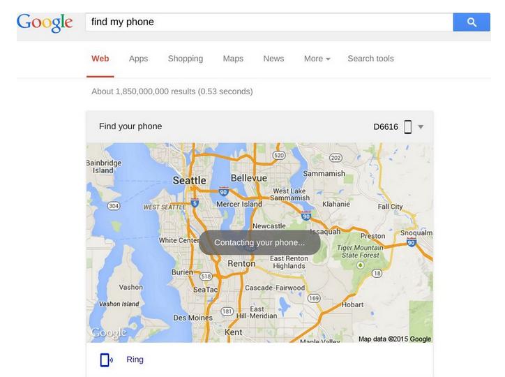 FW: Find my phone : une fonctionnalité pour retrouver son smartphone Android perdu ou volé