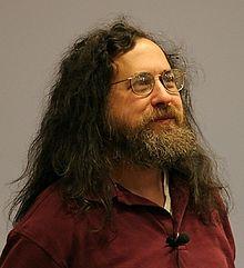 Nom : 220px-Richard_Stallman_2005_chrys.jpg Affichages : 9159 Taille : 10,2 Ko