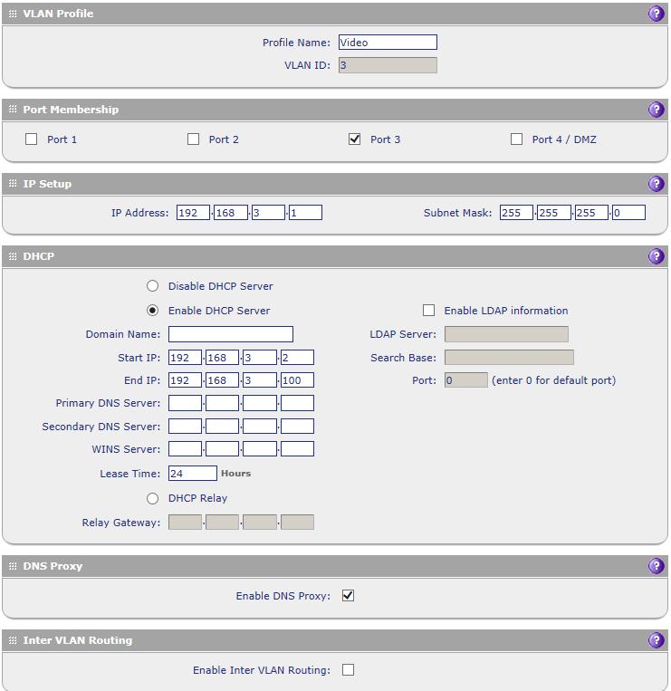 Besoin d'aide pour configuration VLAN chez netgear