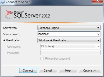 Chaine De Connexion Sql Server