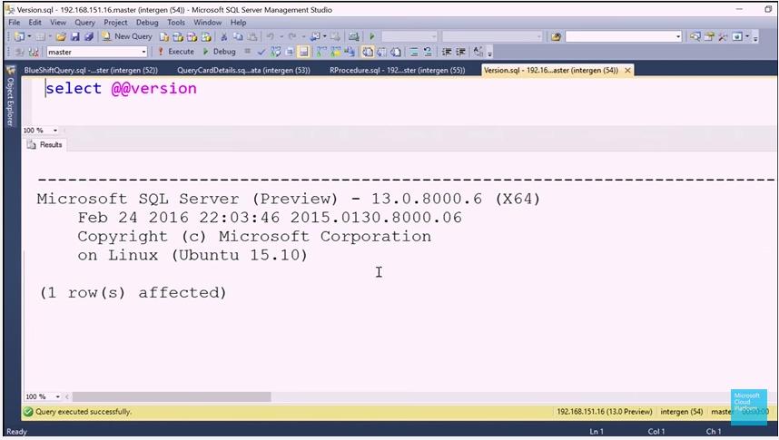 Nom : Version_SQL20016.png Affichages : 851 Taille : 186,8 Ko
