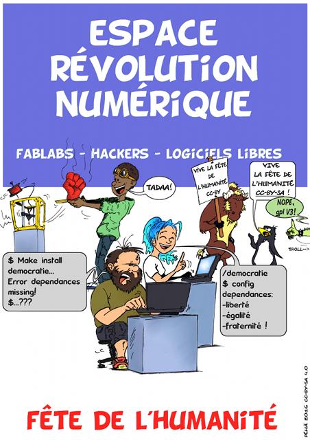Nom : affiche_espace_revolution_numerique_fete_humanite_2016_640x450.png Affichages : 1449 Taille : 315,3 Ko