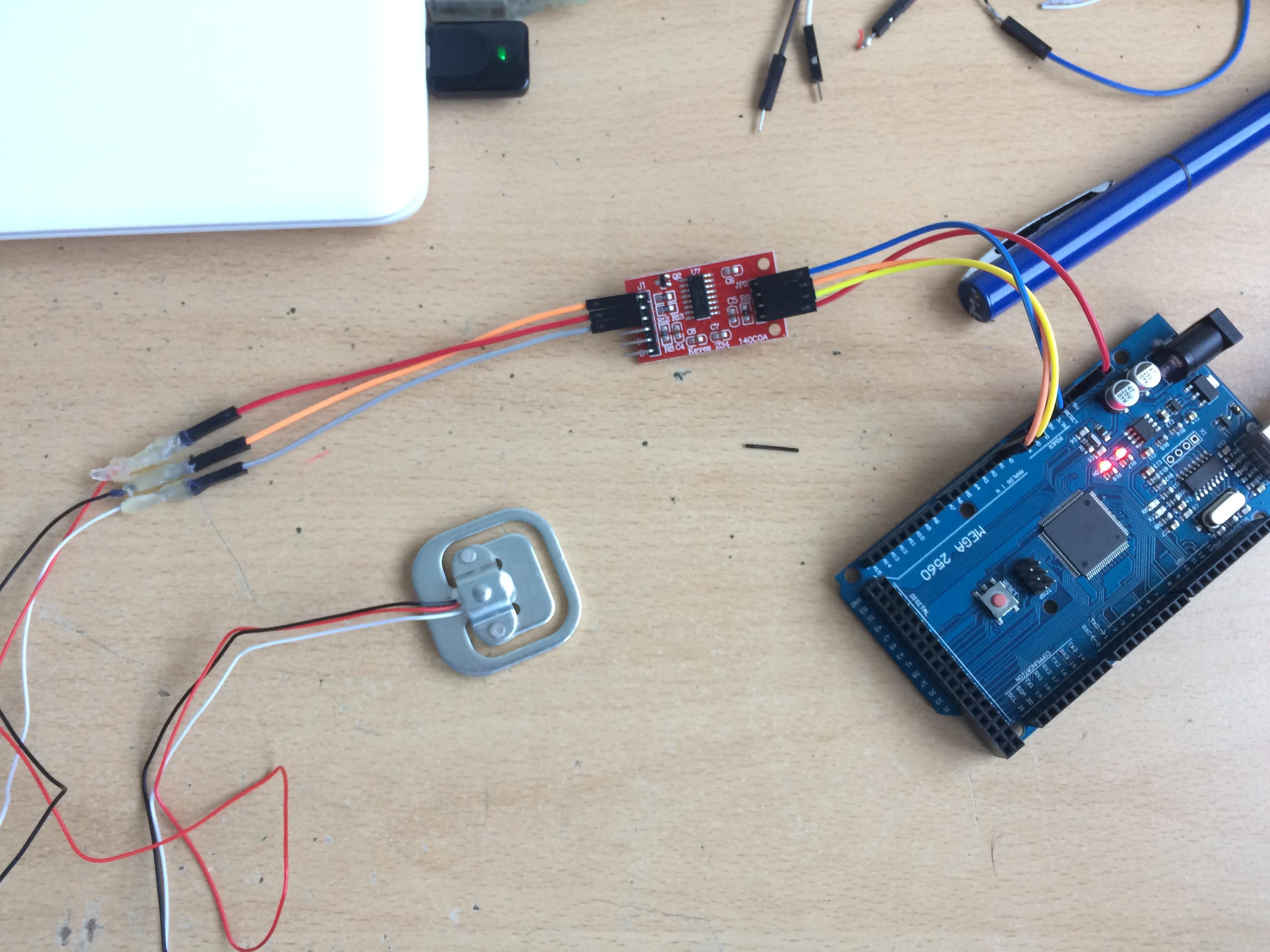 Problème avec capteur et amplificateur de signal