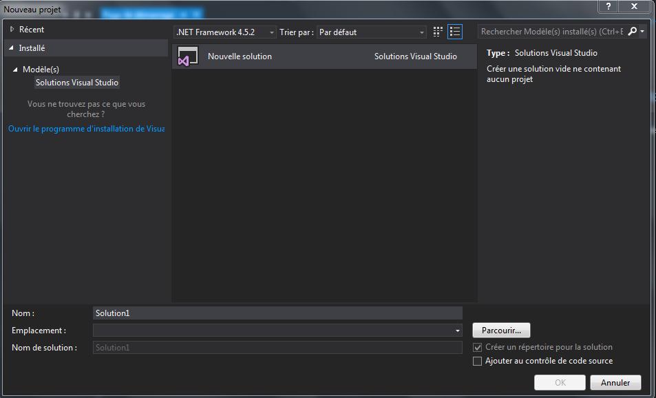 Nom : projet Visual Studio.PNG Affichages : 175 Taille : 56,5 Ko