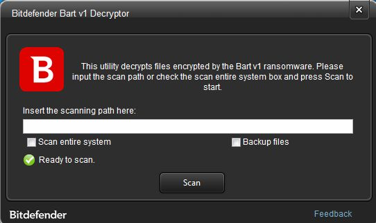 Nom : Bart_Ransomware_Decryption_Bitdefender.png Affichages : 3452 Taille : 99,3 Ko