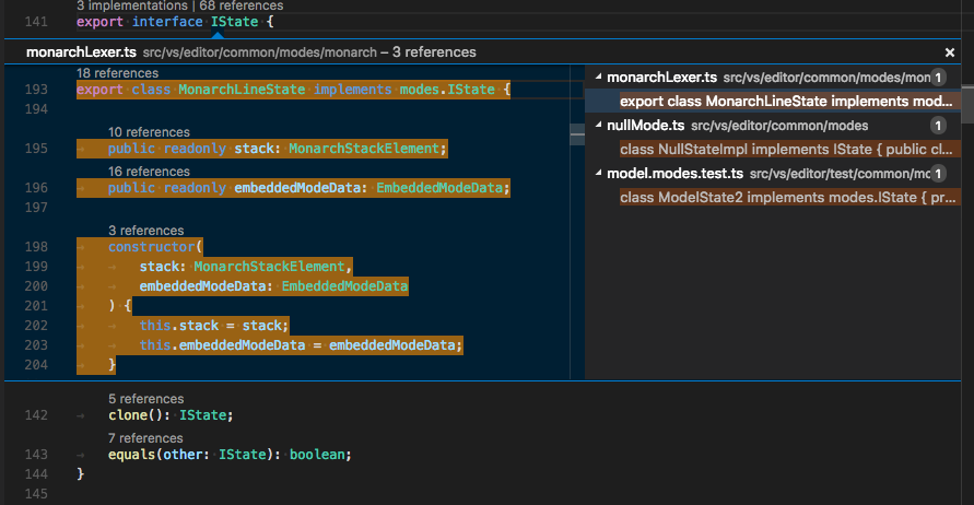 Nom : VS_Code_TypeScript_Codelens.png Affichages : 12755 Taille : 64,0 Ko