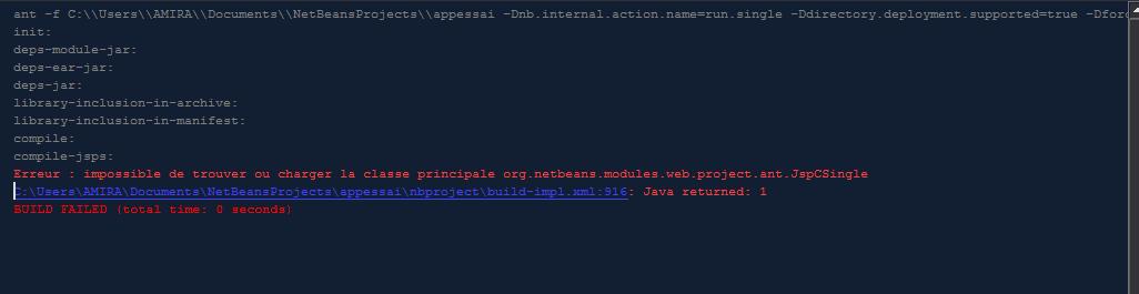 Executer Une Class Java Dans Jsp