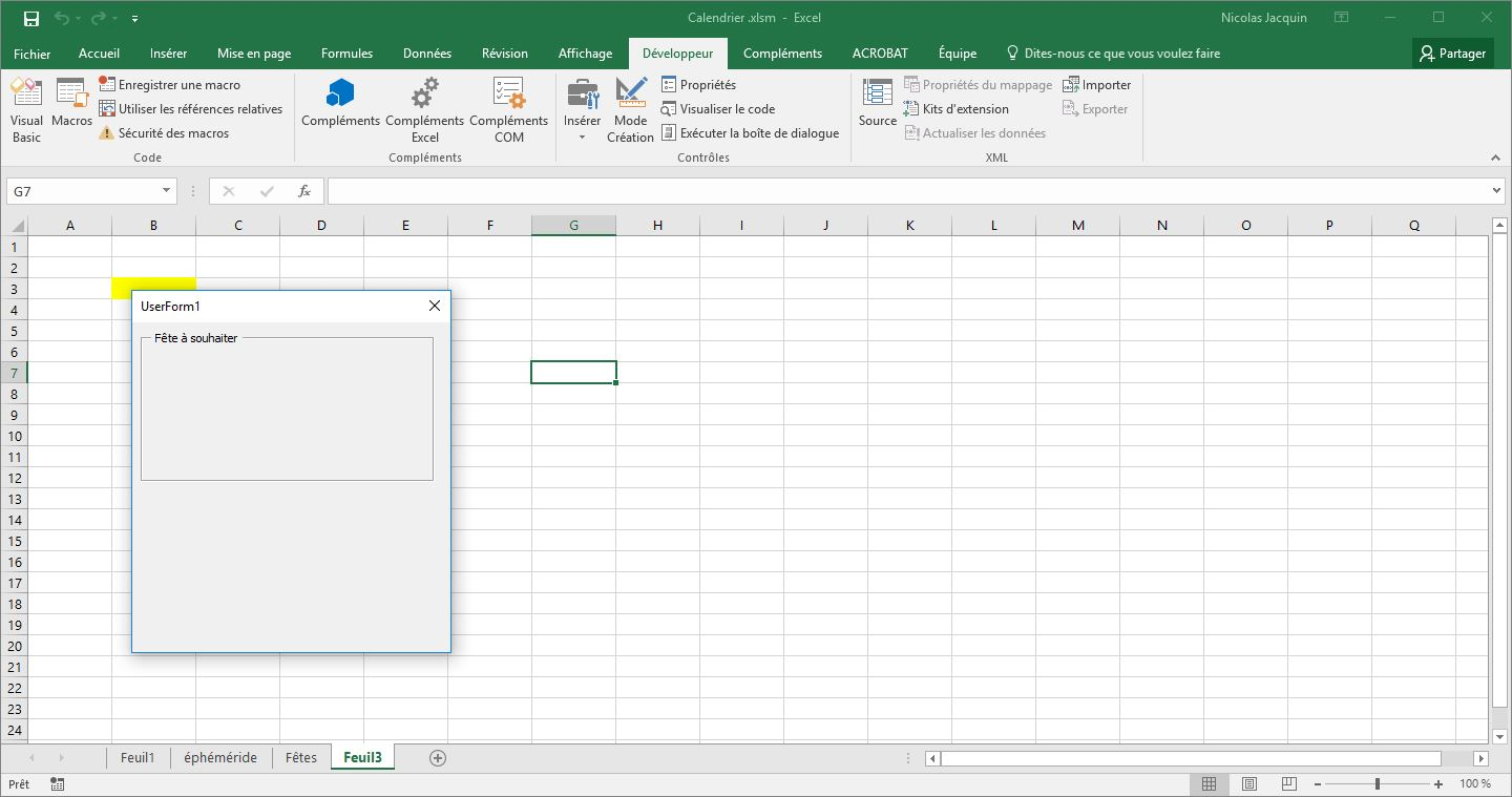 excel vba how to fix an image position