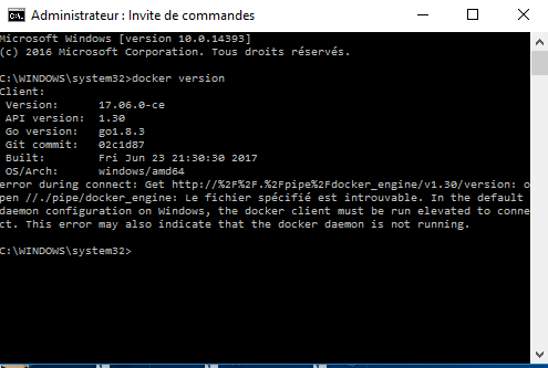 Nom : Docker_version.PNG Affichages : 40 Taille : 15,3 Ko