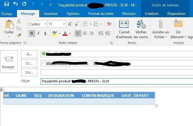 Vba Envoyer Un Mail Depuis Excel En Compilant Plusieurs Sources