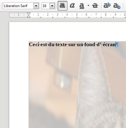 Nom : LibreOffice Writer FondsPage1.png Affichages : 85 Taille : 119,8 Ko