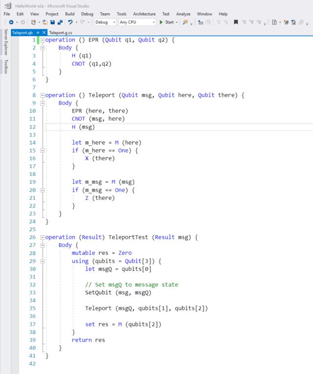 Microsoft cre un nouveau langage de programmation ddi aux for Porte logique quantique