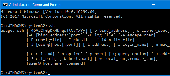 Nom : ssh-command-line.png Affichages : 6048 Taille : 11,1 Ko