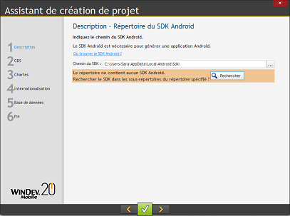 sdk android pour windev mobile 20