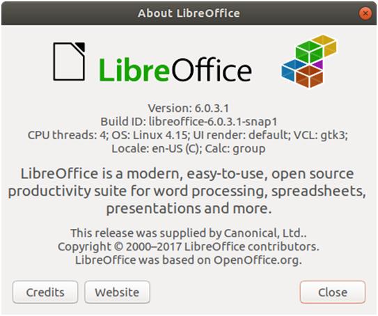 LibreOffice 6 0 3 est disponible en téléchargement et