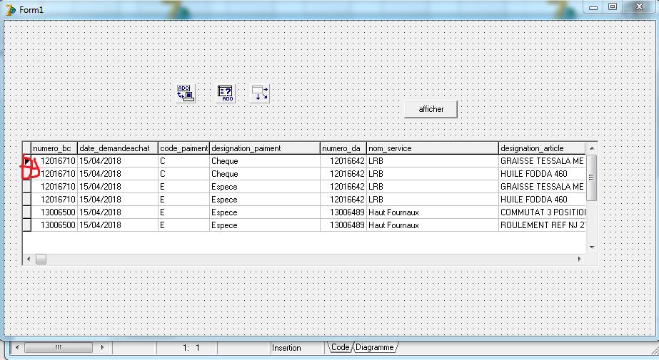Delphi 7] Sélectionner plusieurs lignes DBGRID et afficher sur un état
