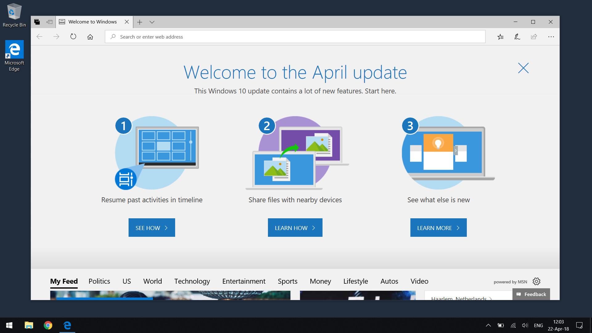 Windows 10 April Update, c'est pour bientôt ?