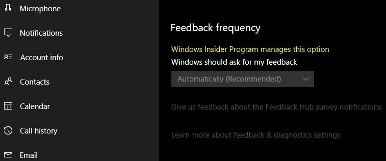 Nom : windows-10-april-2018-update-bug-feedback-frequency-can-t-be-changed-520921-2.jpg Affichages : 6125 Taille : 24,0 Ko