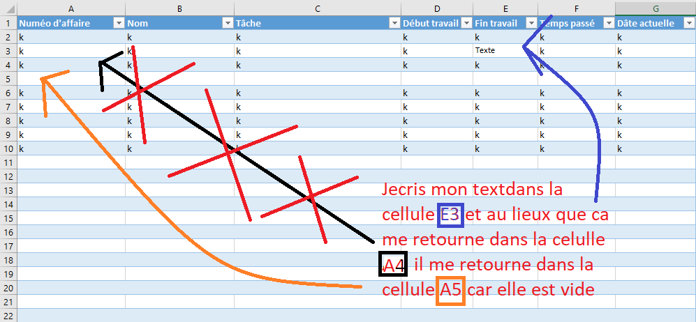 Retour A La Ligne Vba Macros Et Vba Excel