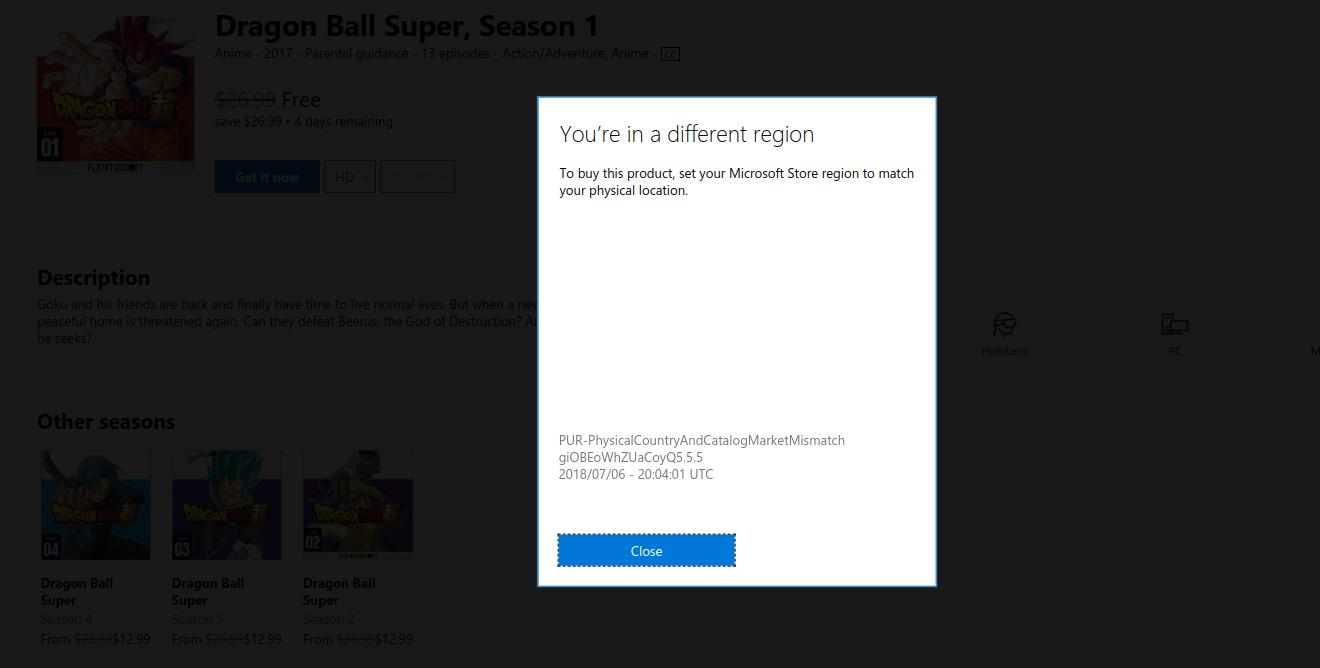 Nom : Microsoft Store.png Affichages : 4384 Taille : 128,6 Ko