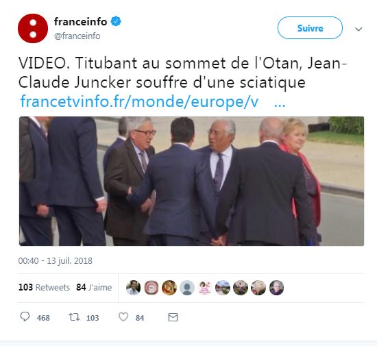 Nom : 2018-07-13 17_40_10-franceinfo sur Twitter _ _VIDEO. Titubant au sommet de l'Otan, Jean-Claude J.png Affichages : 141 Taille : 202,2 Ko