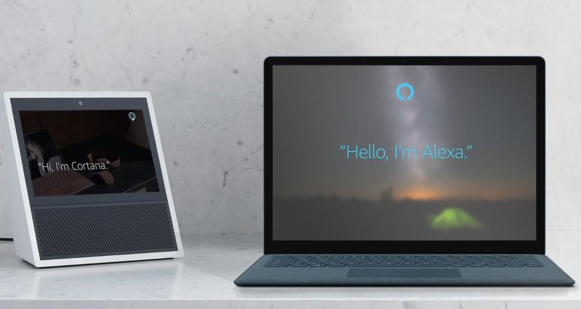 Cortana et Amazon Alexa sont désormais meilleurs amis