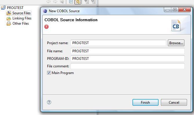 PC] Problème d'utilisation du plugin Cobol dans Eclipse
