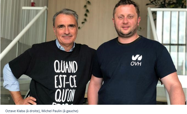 Michel Paulin devient directeur général — OVH