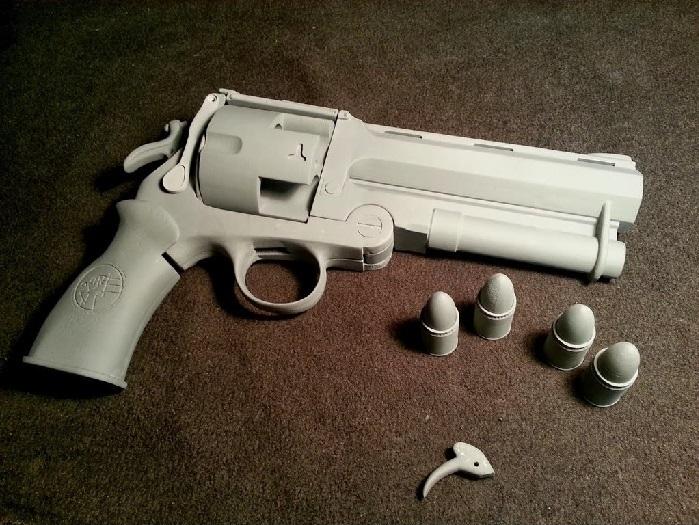 Nom : 3D Firearm.jpg Affichages : 4269 Taille : 172,1 Ko