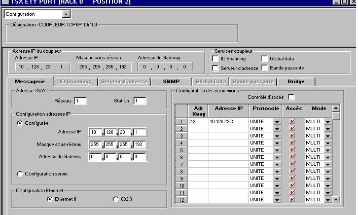 communication entre deux automates schneider en modbus TCP/IP [Trucs