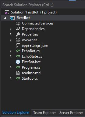 Apprendre à démarrer avec le Bot Builder SDK V4 pour  NET