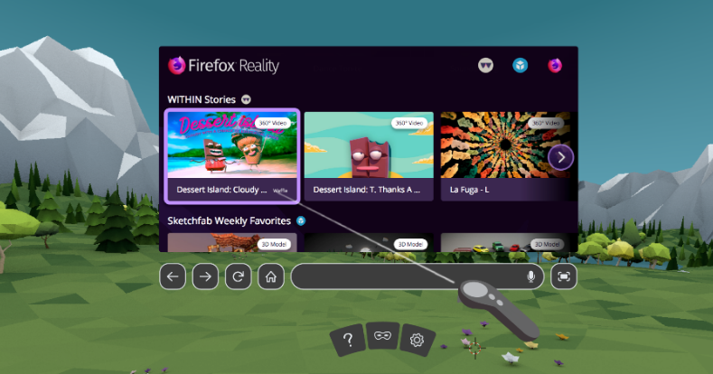 Nom : firefox reality.png Affichages : 1890 Taille : 299,3 Ko