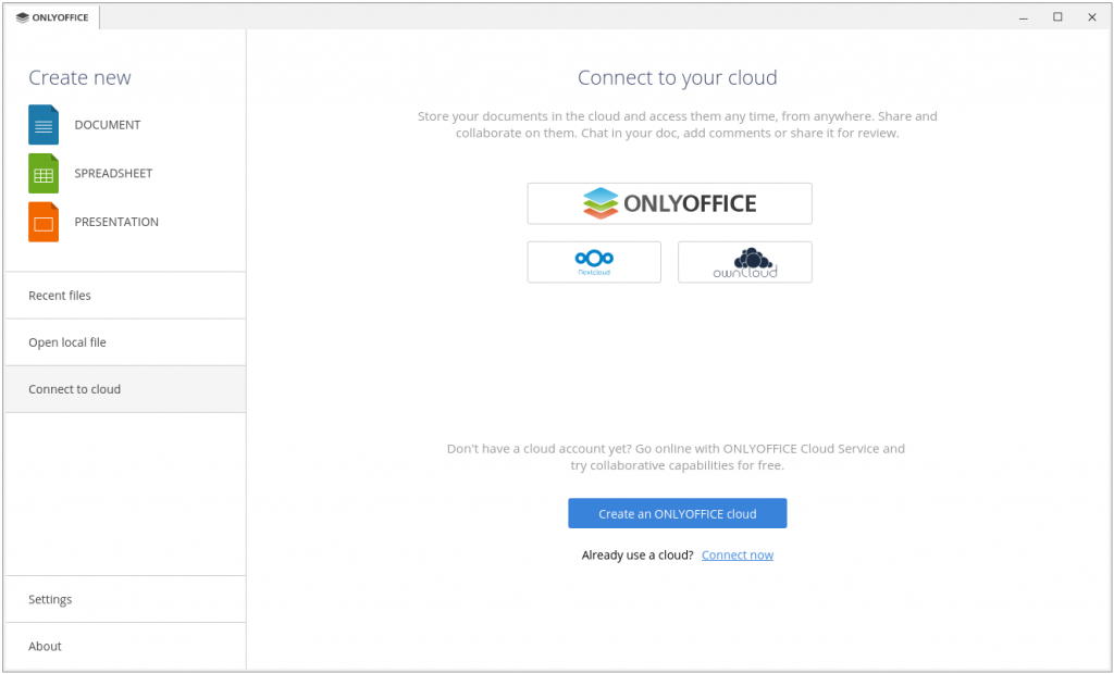 Nom : onlyoffice-desktop-editors-connect-to-cloud-1024x620.png Affichages : 30 Taille : 245,1 Ko