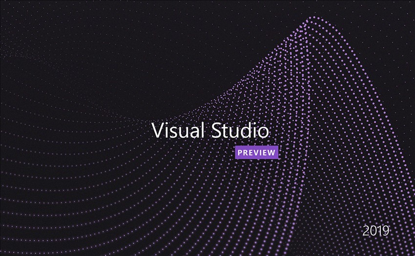 Nom : Visual-Studio-2019-Startup-Screen.png Affichages : 6885 Taille : 349,6 Ko