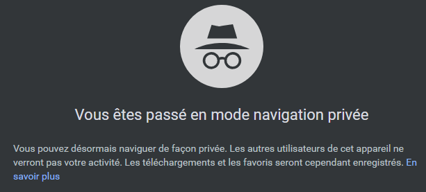 Nom : chrome prive.png Affichages : 2580 Taille : 15,1 Ko