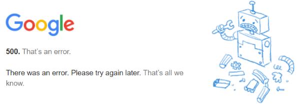 Nom : google erreur.png Affichages : 2817 Taille : 41,7 Ko