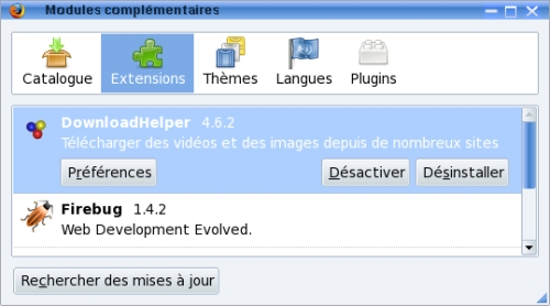 Nom : Firefox_extensions.jpg Affichages : 4551 Taille : 64,1 Ko