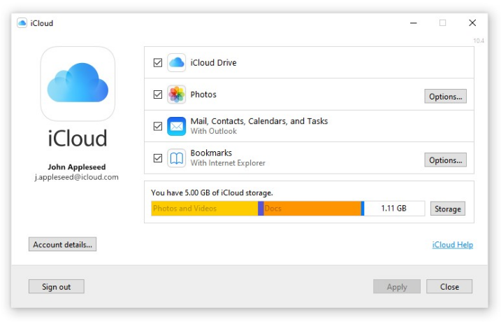 Nom : iCloud drive.png Affichages : 1018 Taille : 126,6 Ko
