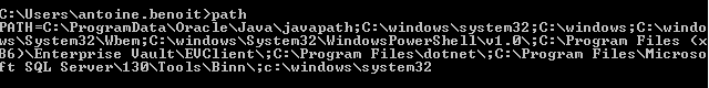 Nom : 2019-06-12 12_02_23-Administrateur_ C__windows_system32_cmd.exe.png Affichages : 11 Taille : 6,1 Ko