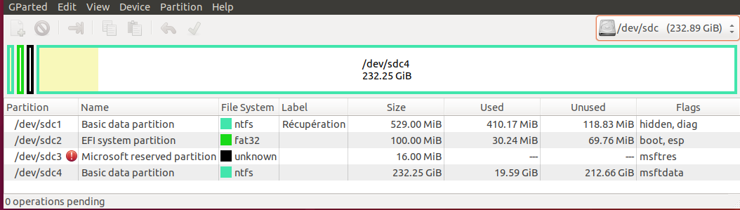 Nom : Partitionnement W10 SSD hercule.png Affichages : 187 Taille : 52,2 Ko