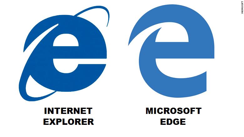 Microsoft Edge : un nouveau logo pour le navigateur